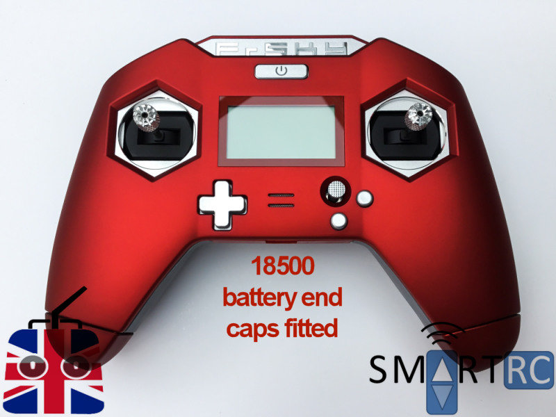 FrSky Taranis X-Lite Transmitter TX Black/Red Mode 2 EU LBT - Dual Battery  Size