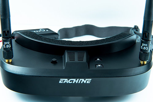 Eachine EV100 720*540 5.8G 72CH FPV Black Goggles Dual Antennas