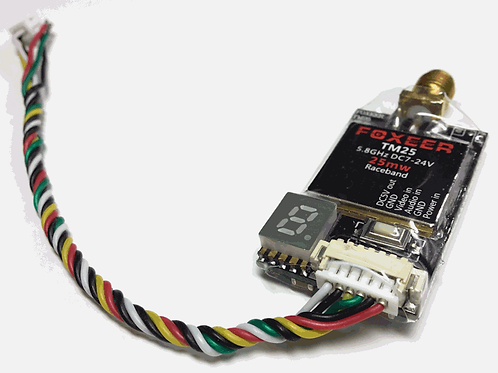 Foxeer TM25 5.8Ghz 25mW VTx Wide Voltage Video Transmitter