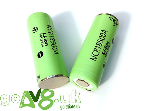Panasonic NCR18500A 2000mAh Li-ion Batteries (Pair)