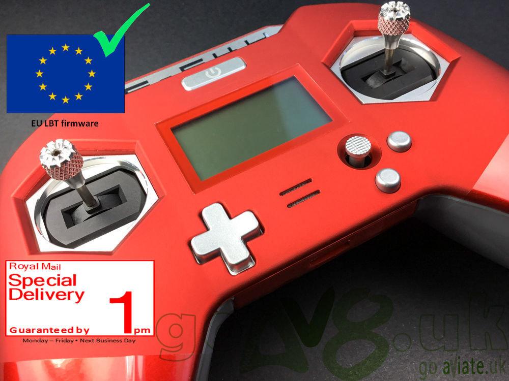 FrSky Taranis X-Lite Transmitter TX Black/Red Mode 2 EU LBT