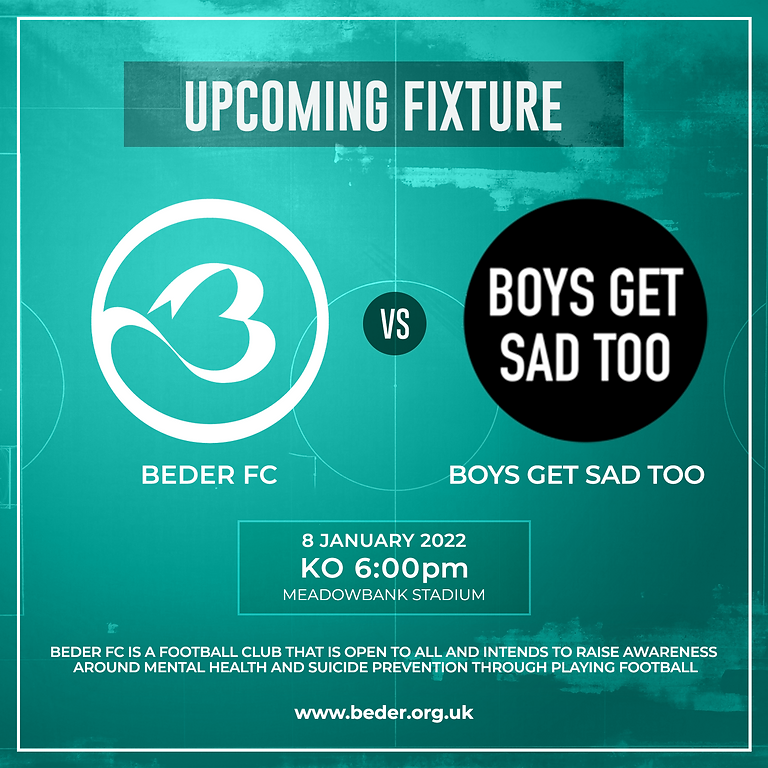Beder FC vs. Boys Get Sad Too