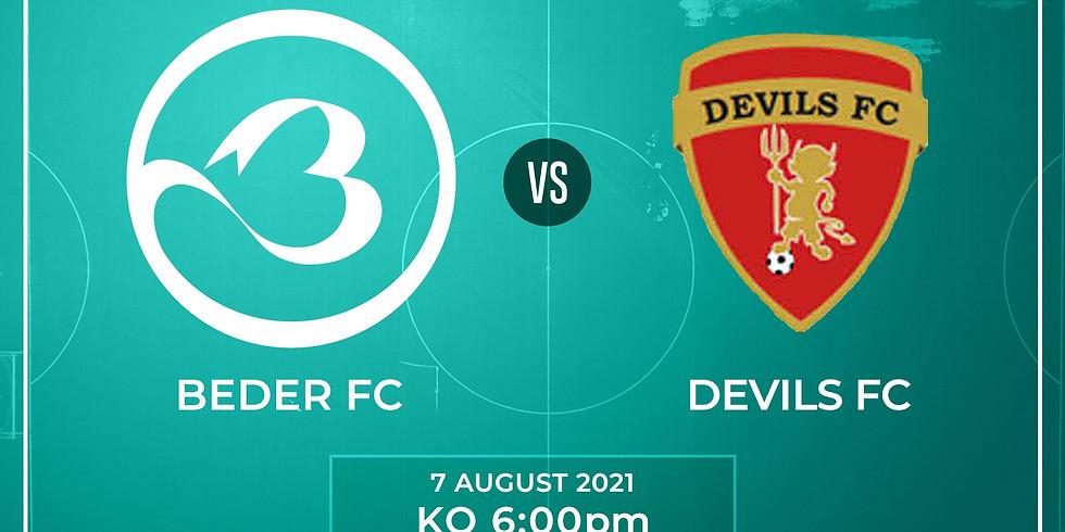 Beder FC vs. Crawley Devils FC