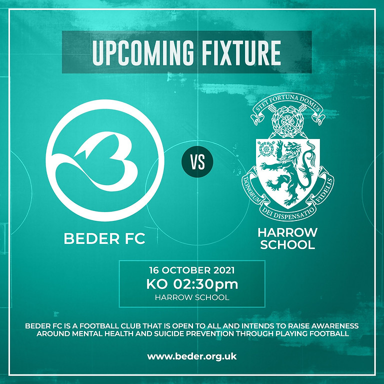 Beder FC vs. Harrow School