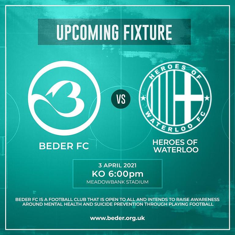 Beder FC vs. Heroes of Waterloo