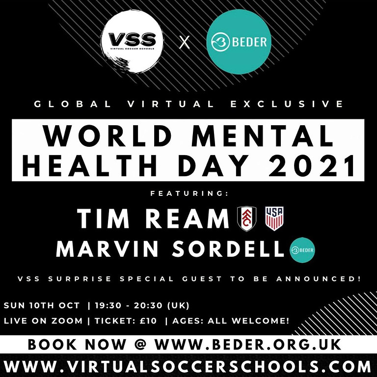 Virtual Soccer Schools x Beder Exclusive Workshop