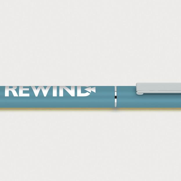 Rewind Pen Blue