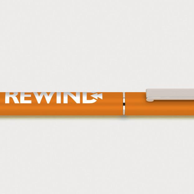 rewind Pen Orange