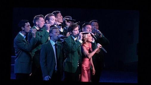 Matt Newman performed with Vocal Point when they sang a Wicked Medley with Kristen Chenoweth