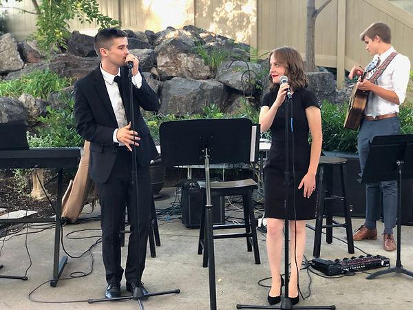 Matt often performs with Jantzen and Hannah Dalley