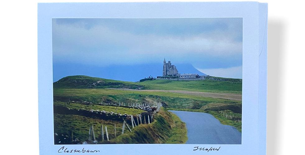 Classiebawn Castle Greetings Card