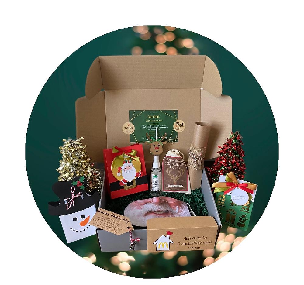 Socially Distanced Santa Box Contents