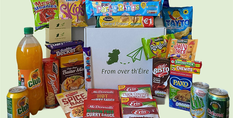 "The ""What do ye fancy?"" Irish Snack Care Package"