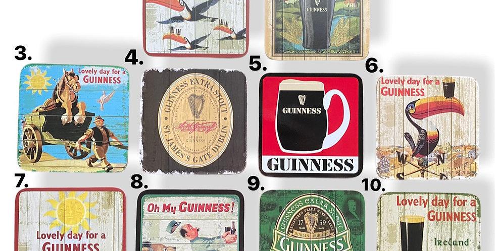 Guinness Beer Coasters