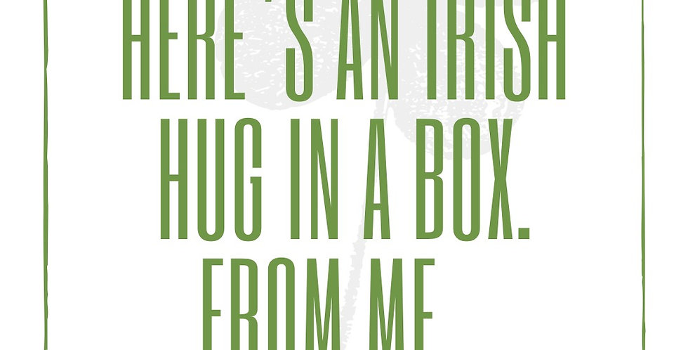 Hug In A Box Greetings Card