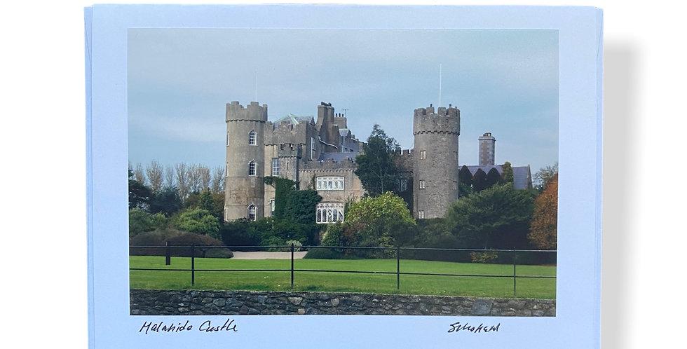 Malahide Castle Greetings Card