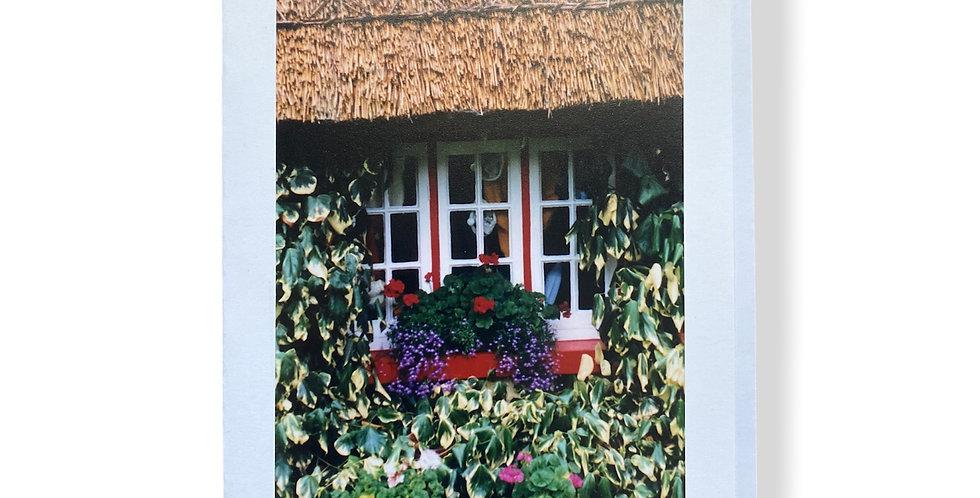 Red Irish Window