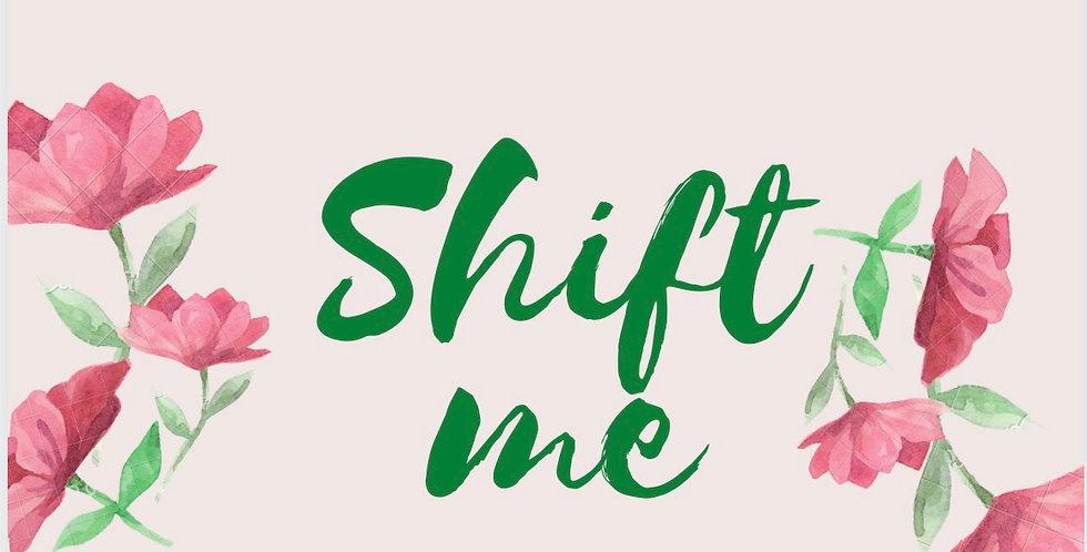 Shift Me Greetings Card