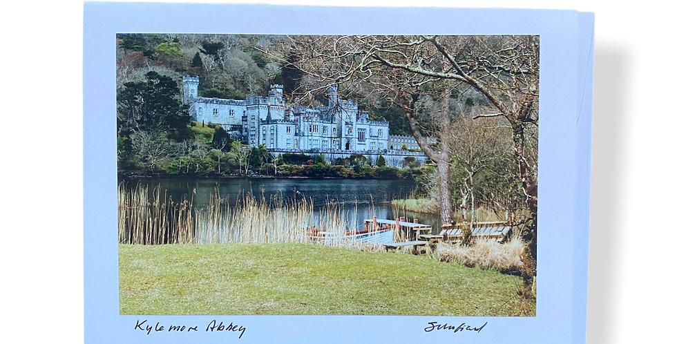 Kylemore Abbey Greetings Card