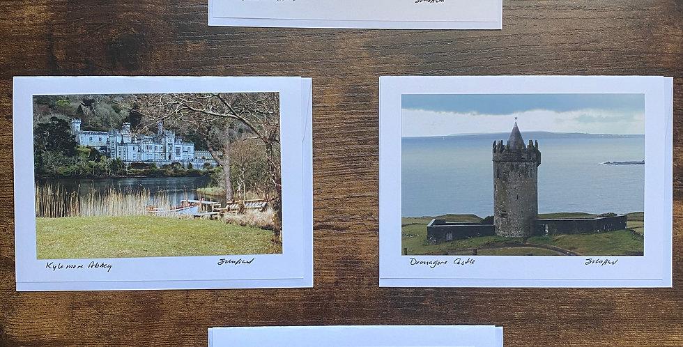Set of 4 Irish Castle Greetings Cards