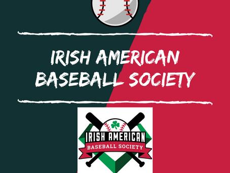 WINNER: Irish American Baseball Society Giveaway