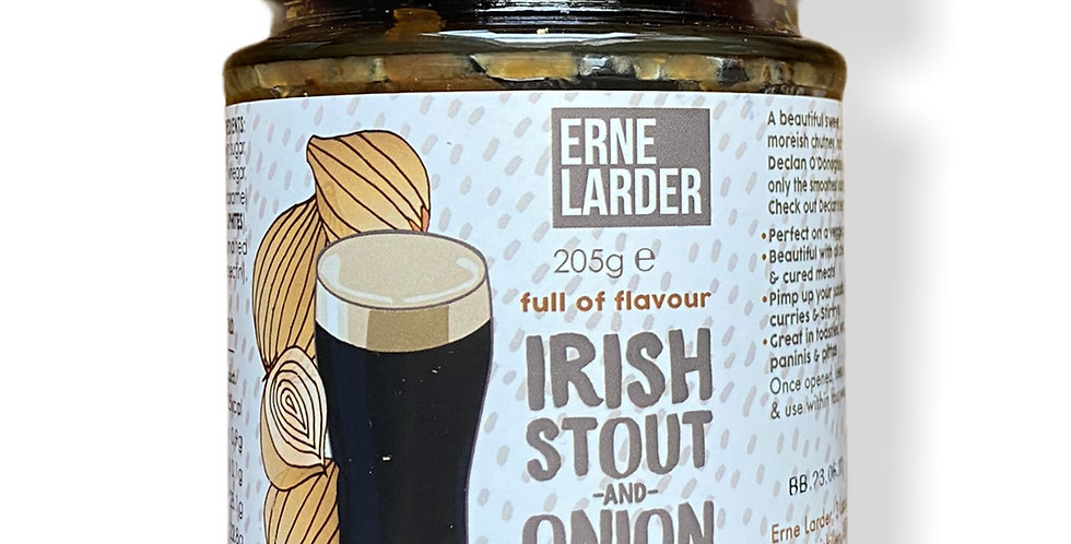 Erne Larder Irish Stout and Onion Chutney