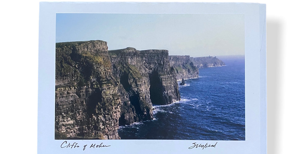 Cliffs of Moher Greetings Card