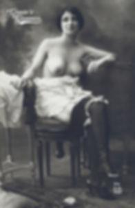 ER nude postcard