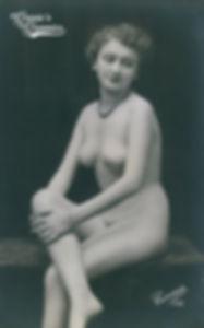 Corona vintage nude photograph
