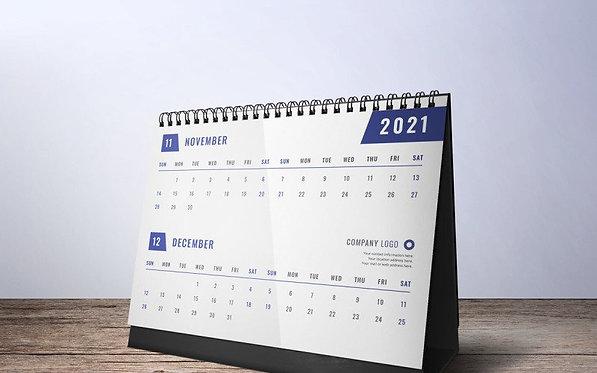DS-CL -- Desk Calendar