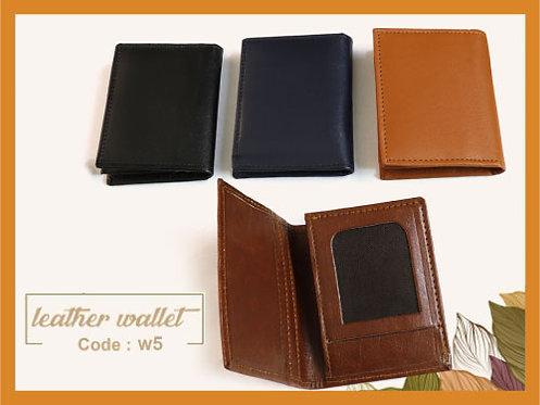 W5 -- Leather Wallet