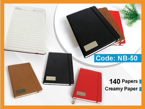 NB-50 -- XL Rubber Band Notebook