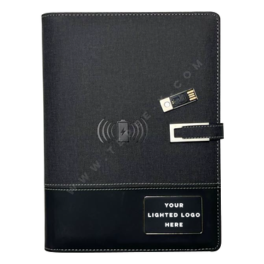 NB-3899 -- Wireless 4000 MAH Power Bank Notebook + Flash Memory 16G