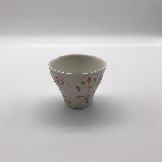カップ 小小 金銀マット 浜坂尚子_HAMASAKA Naoko