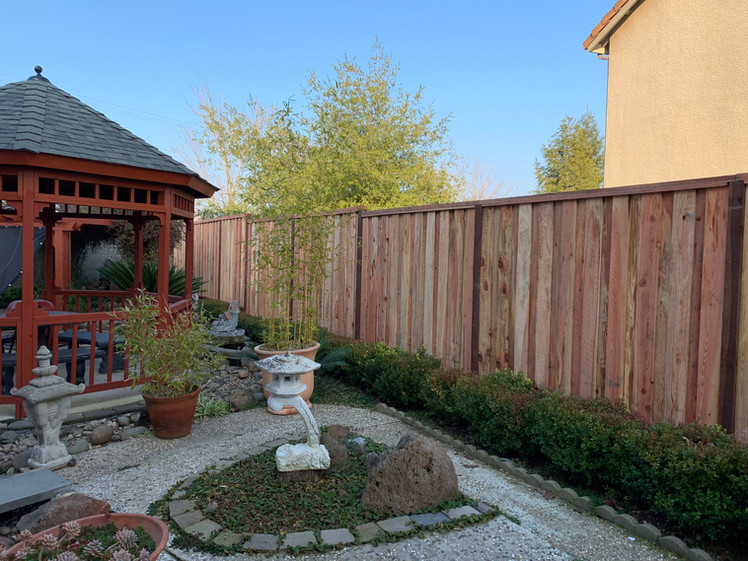 Good Neighbor Wood Fence