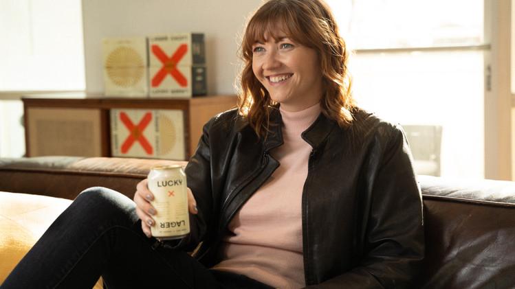 Lucky Lager (Branded)