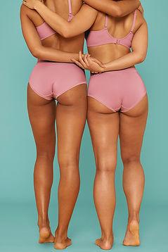 Two Women in Underwear