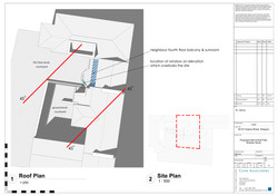 A L 070 02 - Proposed Site & Roof Plan S