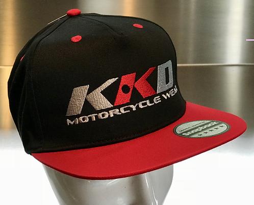 KKD Cap Snapback black-red