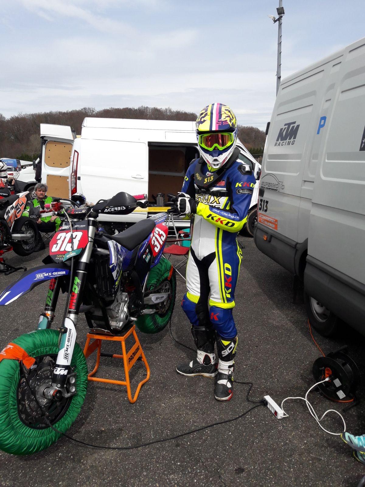 KKD Motorcycle Wear Patrik Hüglin