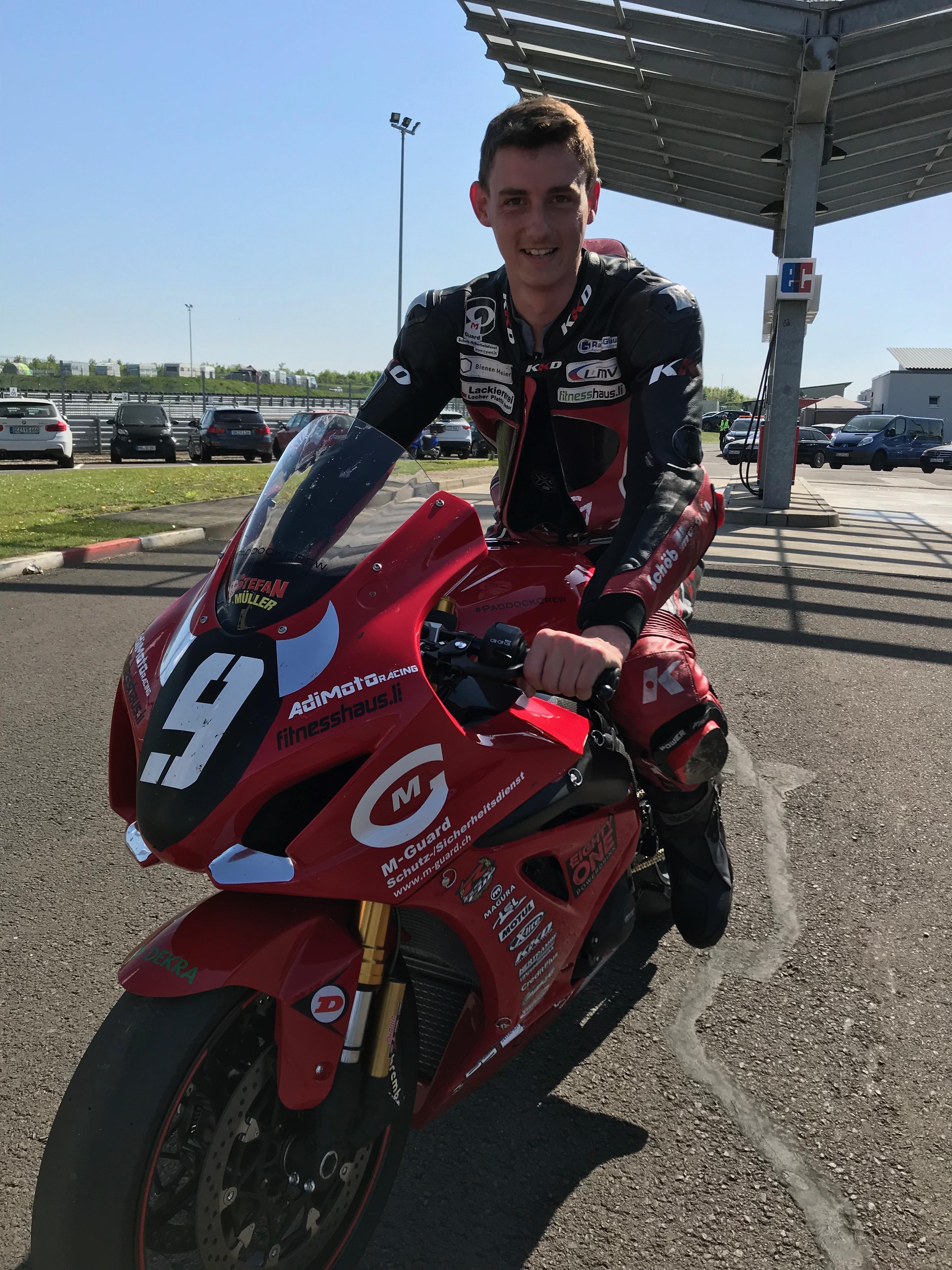 KKD Motorcycle Wear Stefan Müller