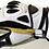 Thumbnail: KKD Racinghandschuh SPORTS   weiss-schwarz