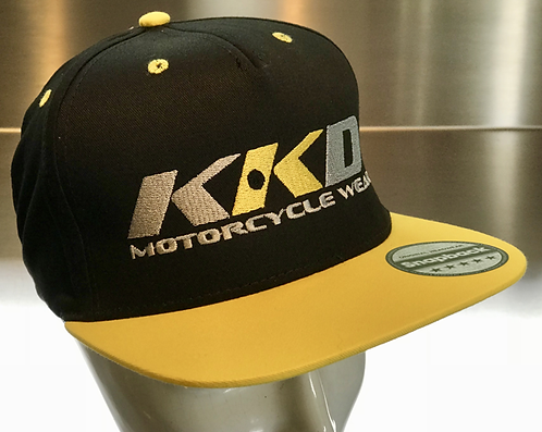 KKD Cap Snapback black-yellow