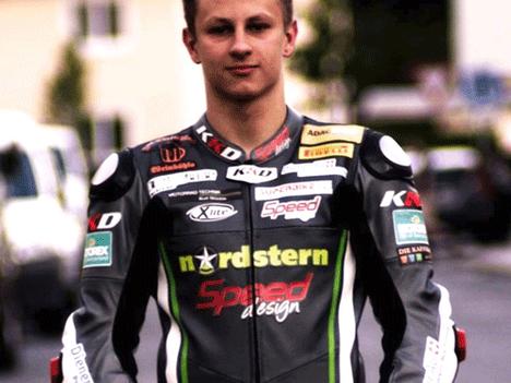 Neues KKD Racingkombi PRO1 für Christian Stange - D   WEBER-DIENER Racing Team