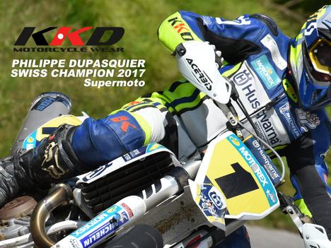 SWISS CHAMPION SUPERMOTO 2018 Philippe Dupasquier - DP Racing Team