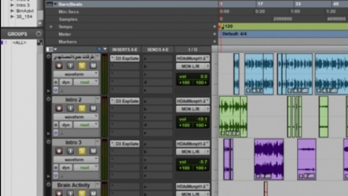 Unkle Ricky Pro Tools Recording Template