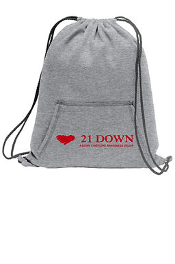 21 Down Sweatshirt Bag