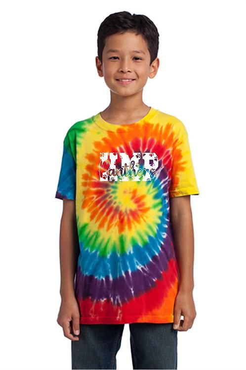 H&MPotter Rainbow Tie Dye T