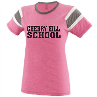 Cherry Hill Pink Fanatic Tee w/ Glitter