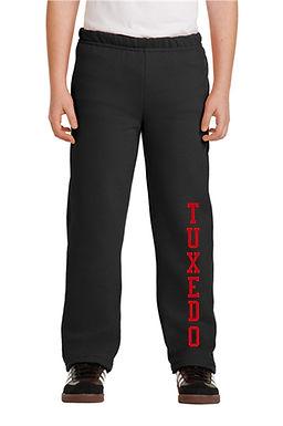 Tuxedo Open Bottom Sweatpants